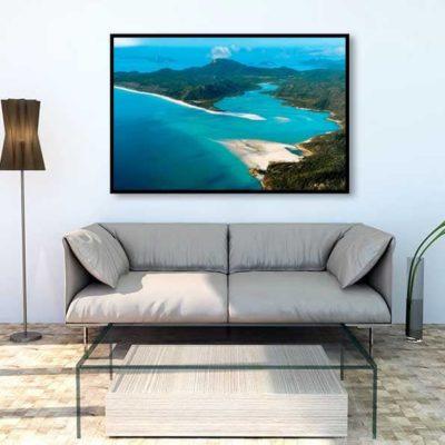 tirage impression print grand format photographie photographe paysage nature décoration art whitsunday island queensland australia australie airlie beach qld plage