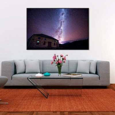 tirage impression print grand format photographie photographe paysage nature décoration art voie lactée milky way nuit night star etoile australia tasmanie