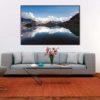 tirage impression print grand format photographie photographe paysage nature décoration art lac blanc chamonix alpes mont blanc reflet reflect