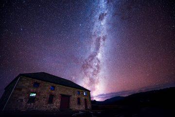 milky way voie lactee lactée tas Commissariat Store Darlington Toarra-Marra-Monah astro astronomy étoiles star night astrophoto maria island tasmania tasmanie australia australie nuit nikon unesco monument