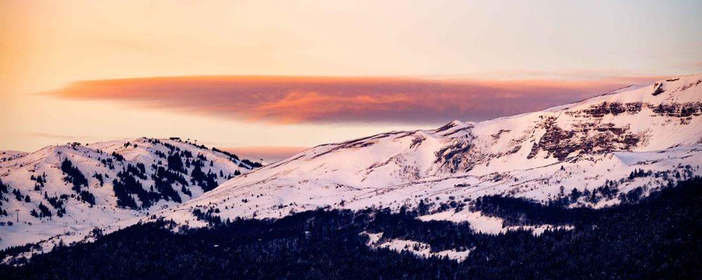 sunrise lever de soleil robin favier jura pays de gex monts jura ski stations hiver winter france neige snow mountain crozet crêt de la neige reculet